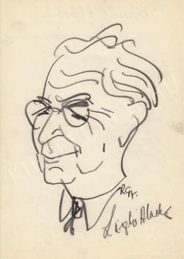 Rózsahegyi György - László Aladár újságíró portréja