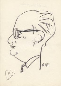 Rózsahegyi György - dr. László Andor közgazdász portréja