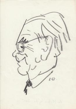 Rózsahegyi György - dr. Mihályfi Ernő újságíró, miniszter portréja