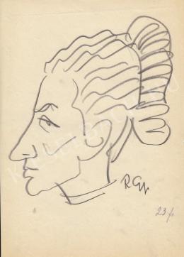 Rózsahegyi György - Nagy Józsefné Szarka Jolán politikus portréja (1970-es évek)