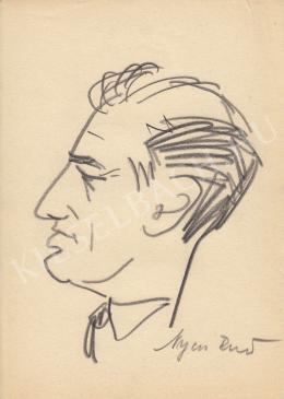 Rózsahegyi György - Nyers Rezső politikus portréja (1970-es évek)