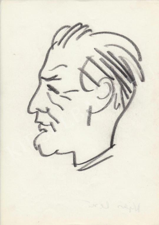 Eladó  Rózsahegyi György - Nyers Rezső politikus portréja festménye