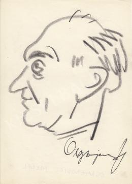 Rózsahegyi György - Ognyenovics Milán politikus portréja