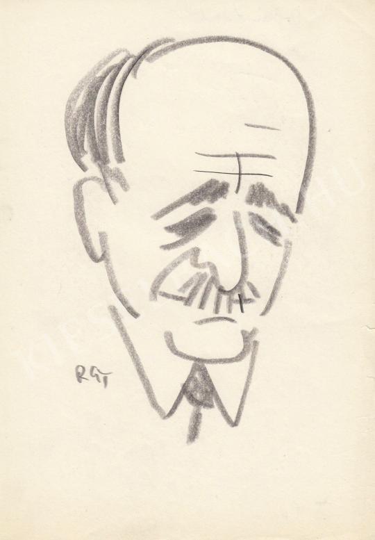 Eladó  Rózsahegyi György - Orbán László kulturminiszter portréja festménye