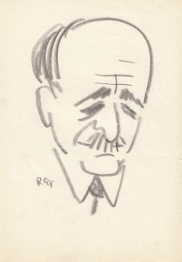 Rózsahegyi, György - Portrait of László Orbán Culture Minister