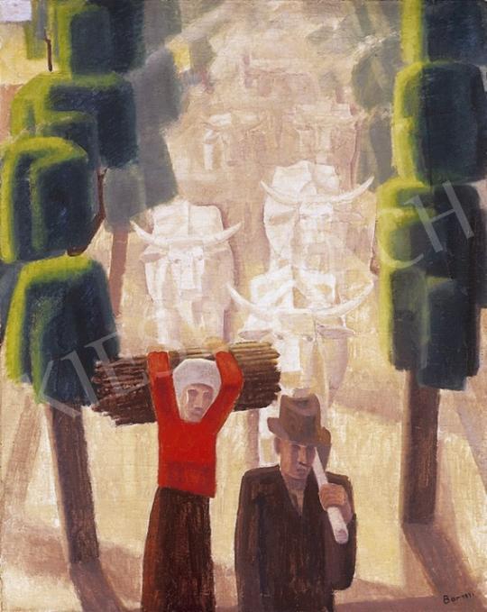 Bor Pál - Hazafelé | 11. Aukció aukció / 179 tétel