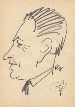 Rózsahegyi, György - Portrait of János Pap Politician