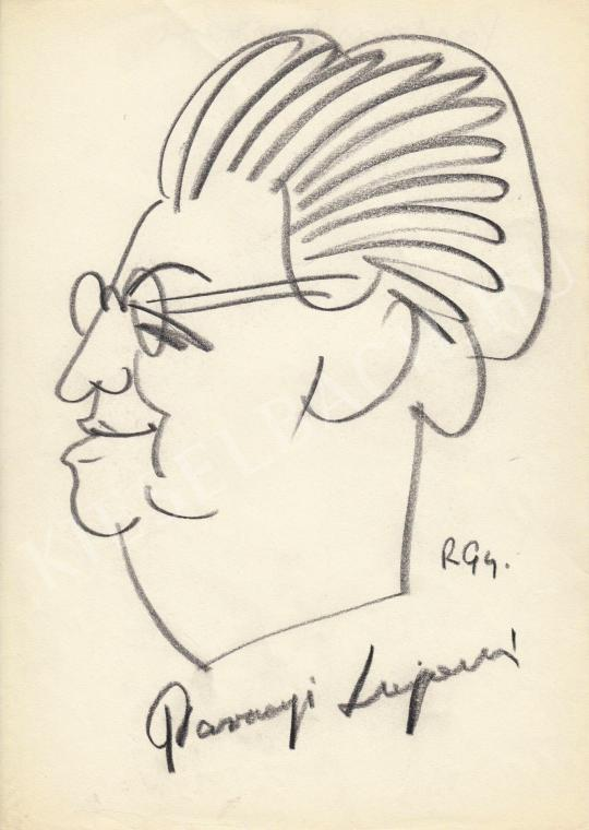 For sale  Rózsahegyi, György - Portrait of Lajosné Parragi Politician 's painting