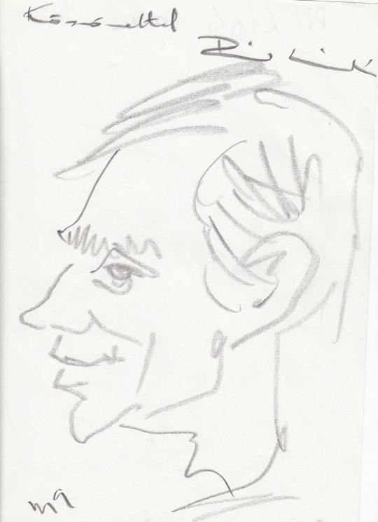 For sale  Rózsahegyi, György - Portrait of László Pál 's painting