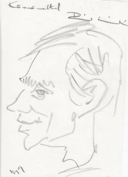 Rózsahegyi György - Pál László portréja