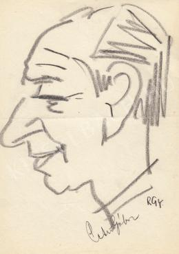Rózsahegyi, György - Portrait of Gábor Petri Politician