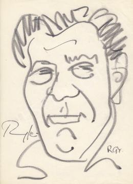 Rózsahegyi, György - Portrait of Jenő Ranschburg Psychologist