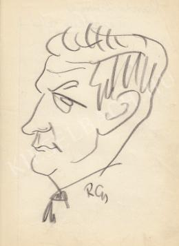 Rózsahegyi, György - Portrait of Imre Párdi Politician (1960s)