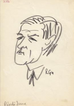 Rózsahegyi György - Párdi Imre politikus portréja