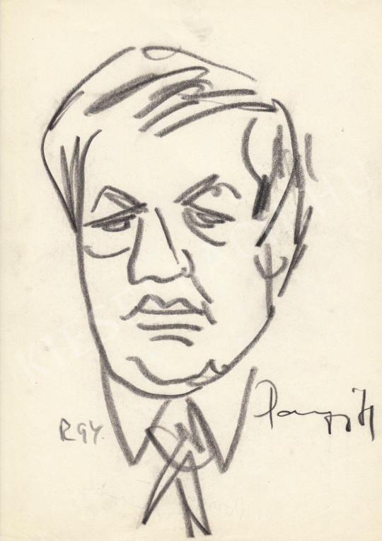 Eladó  Rózsahegyi György - Pozsgay Imre politikus portréja festménye