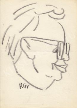 Rózsahegyi György - Péter János politikus portréja (1970-es évek)