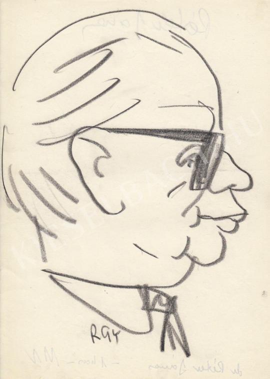 For sale  Rózsahegyi, György - Portrait of János Péter Politician 's painting