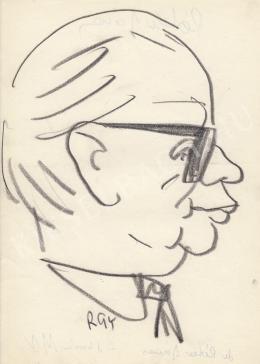 Rózsahegyi György - Péter János politikus portréja