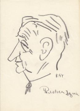 Rózsahegyi György - Pióker Ignác politikus portréja