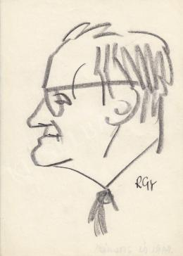 Rózsahegyi György - Sarlós István politikus portréja (1960-as évek)