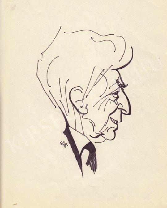 Eladó  Rózsahegyi György - dr. Sik Endre író, jogász, politikus portréja festménye