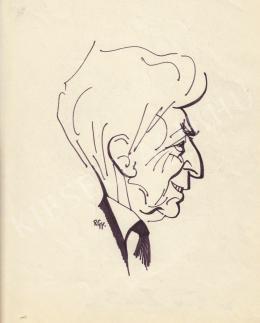 Rózsahegyi, György - Portrait of Endre Sík Writer, Politician, Jurist