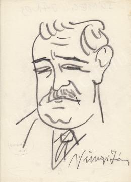 Rózsahegyi, György - Portrait of János Sümegi Physician