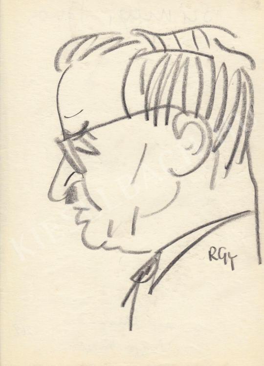Eladó  Rózsahegyi György - Sümegi János belgyógyász portréja festménye