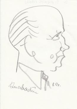 Rózsahegyi György - dr. Szakács Ödön jogász portréja