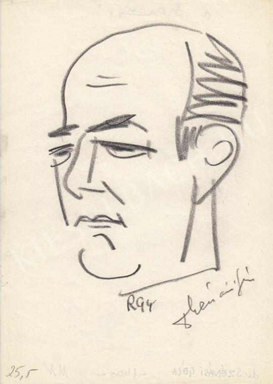 Eladó  Rózsahegyi György - dr.Szénási Géza jogász portréja festménye