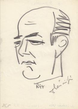 Rózsahegyi, György - Portrait of Géza Szénási Jurist