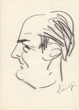 Rózsahegyi György - dr.Szénási Géza jogász portréja (1960-as évek)