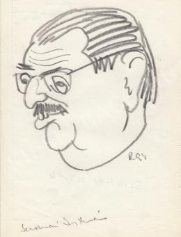 Rózsahegyi, György - Portrait of Iván Szirmai Politician