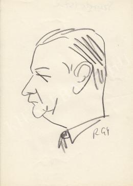 Rózsahegyi, György - Portrait of István Szurni Politician