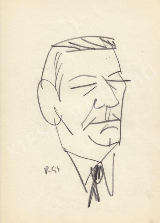 Eladó  Rózsahegyi György - Szurdi István politikus portréja festménye