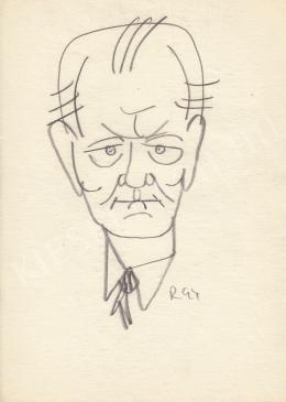 Rózsahegyi György - Trautmann Rezső politikus portréja (1960-as évek)