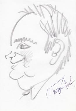 Rózsahegyi György - Torgyán József politikus portréja