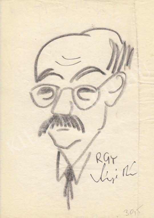 Eladó  Rózsahegyi György - Vályi Péter politikus portréja festménye
