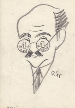 Rózsahegyi, György - Portrait of Péter Vályi Politician