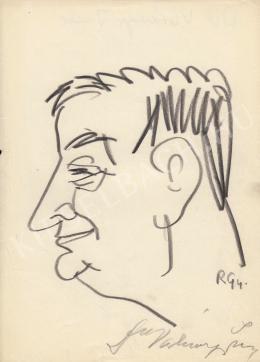 Rózsahegyi, György - Portrait of Imre Várkonyi dr. (1970s)