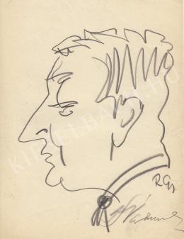 Rózsahegyi, György - Portrait of Imre Várkonyi dr.