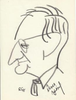 Rózsahegyi György - Veres József portréja