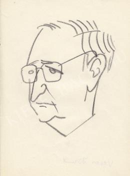 Rózsahegyi György - Veres József portréja (1970-es évek)