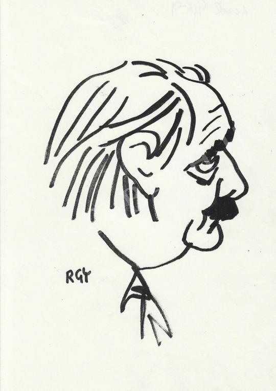 Eladó  Rózsahegyi György - Aczél György politikus portréja festménye