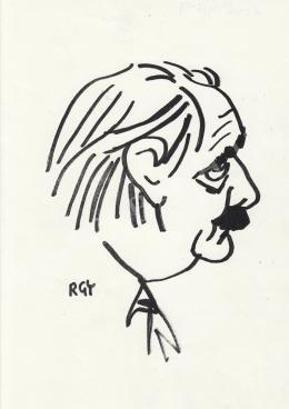 Rózsahegyi György - Aczél György politikus portréja
