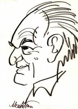 Rózsahegyi György - Alexits György matematikus portréja
