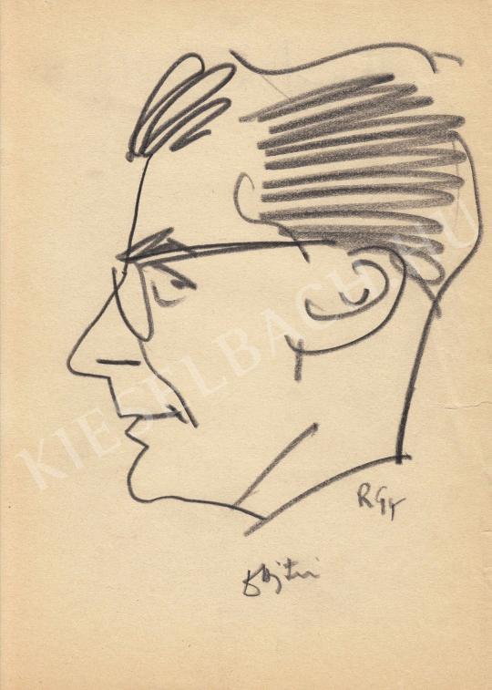 Eladó  Rózsahegyi György - dr. Ajtay Miklós politikus portréja festménye