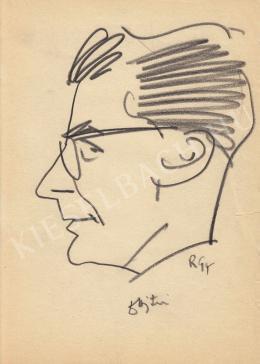 Rózsahegyi, György - Portrait of Miklós Ajtay dr. Politician