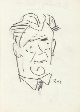 Rózsahegyi György - Benkei András politikus portréja (1970-es évek)