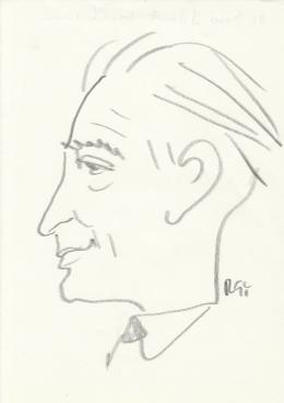 Rózsahegyi György - dr. Biró József portréja